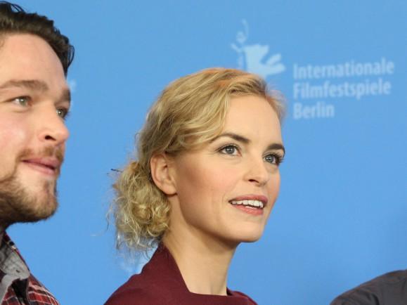 A két főszereplő a Berlini Filmfesztiválon